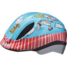 KED Meggy Originals casco per bici Bambino rosso/blu